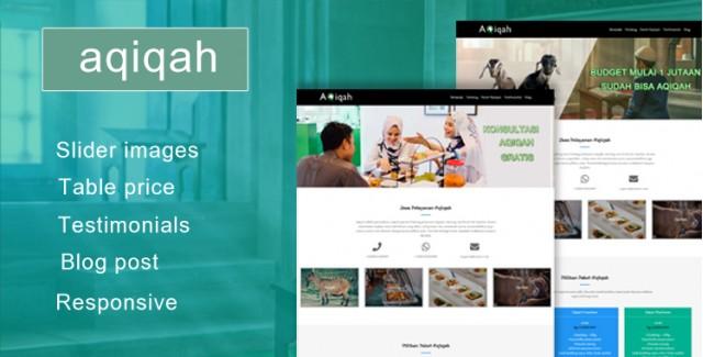 Aqiqah - Wordpress Themes Jasa Aqiqah Catering