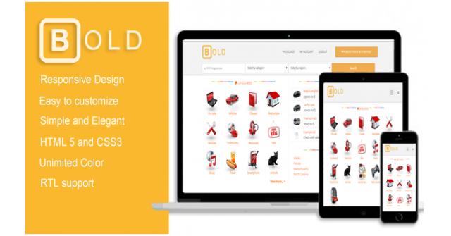 Bold – Premium osclass themes