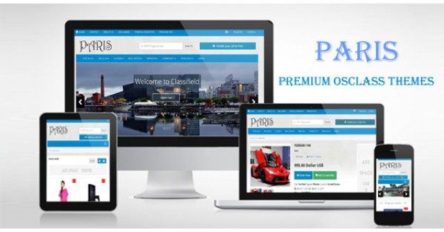 Paris – Responsive Osclass Themes