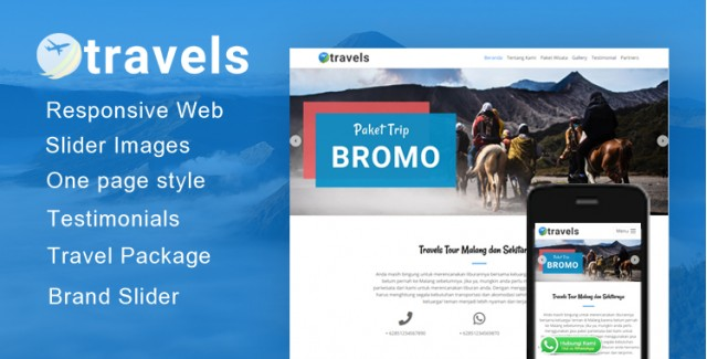 Travels - Wordpress Themes Tour Travel