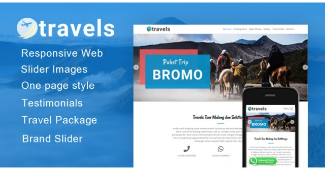 Travels - Wordpress Themes Tour Travel