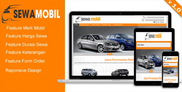 Rental Mobil – WordPress themes rental mobil