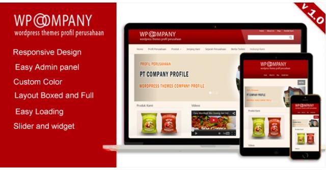 WP Company – Profil Perusahaan Themes