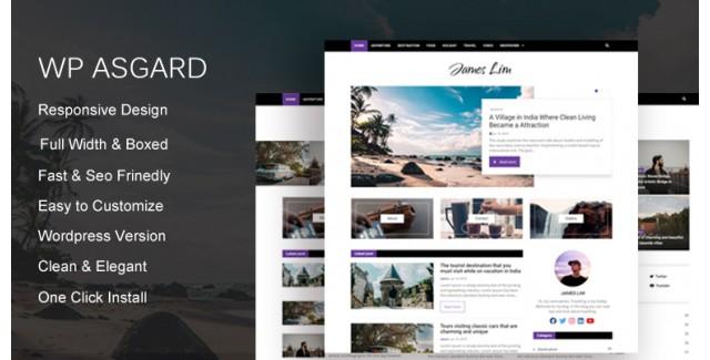 WP Asgards - Wordpress Theme Untuk situs berita