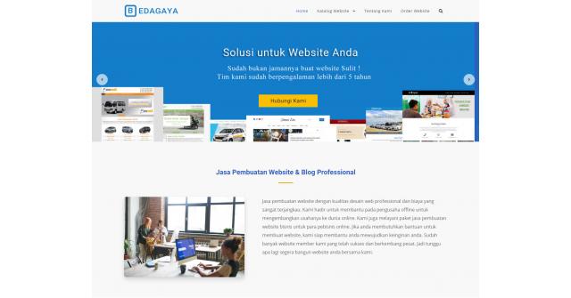 Bedagaya – WordPress Themes Untuk Jasa Desain Web